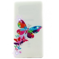 Силикон SA A5/A500 Queen Butterfly