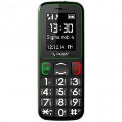 Sigma mobile Comfort 50 Mini3 (Black/Green) Офиц. гар. 12 мес. UA-UСRF