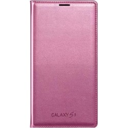 Чехол-книжка G900 (Galaxy S5) EF-WG900BPEGRU Pink