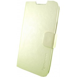Чехол-книжка Lenovo A820 white Yasipai