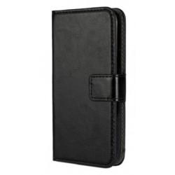 Чехол-книжка Lenovo A390/A376 black MKG