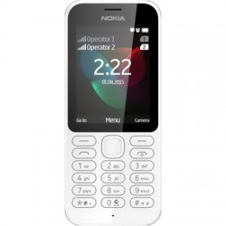 Nokia 222 (Black) UA-UСRF Оф. гарантия 12 мес!