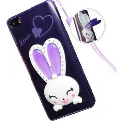 Силикон Xiaomi Redmi M5 violet заяц